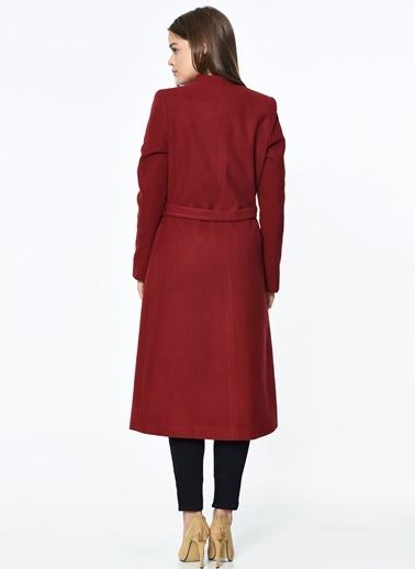 Çift Cepli Uzun Palto-Dewberry